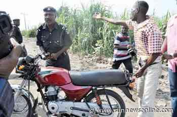Lock down: Okada riders in Ikot Ekpene groan over police extortion - Daily Sun