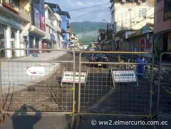 El COE cantonal resuelve peatonizar algunas calles de la ciudad de Macas, para evitar aglomeración - El Mercurio (Ecuador)