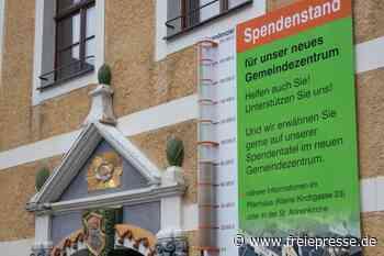 Bauarbeiten für neues Gemeindezentrum in Annaberg-Buchholz liegen im Plan - Freie Presse