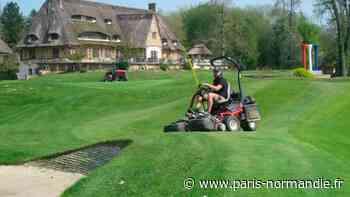 Au Vaudreuil, les jardiniers continuent de prendre soin du golf pendant le confinement - Paris-Normandie