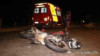 Motociclista fica ferido após colisão na Siqueira Campos - ARede