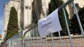 Patrimoine : Isbergues : Des pierres de l'église tombent sur la chaussée - La Semaine dans le Boulonnais
