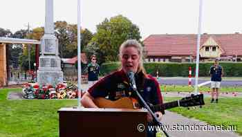 A special service was held in Cobden for Anzac Day - Warrnambool Standard
