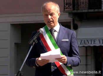 """25 Aprile a Gaglianico, Maggia: """"In una piazza vuota nella realtà ma piena nei miei pensieri"""" VIDEO - newsbiella.it"""