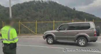 De Anapoima a Bogotá, persona que dio positivo por covid-19 se desplazó en su camioneta - Semana.com