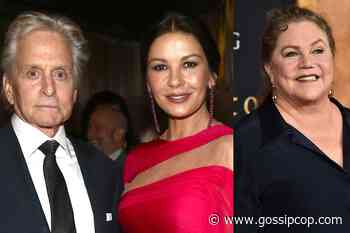 Catherine Zeta-Jones Jealous Over Michael Douglas' Relationship With Kathleen Turner? - Gossip Cop