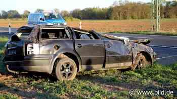 Nordhausen: Schwangere (30) stirbt beim Lkw-Überholen! - BILD