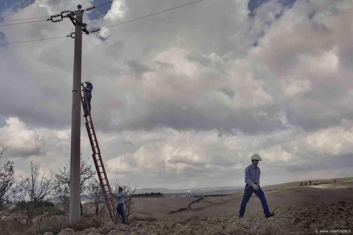 Torgiano: Enel sostituisce apparecchiature danneggiate lungo linea elettrica, domani intervento urgente a Miralduolo | - NewTuscia