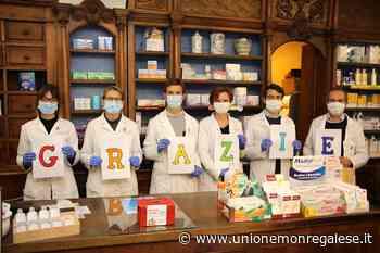 Da Dogliani 1.340 euro all'Ospedale di Mondovì, sono le donazioni per le mascherine - Unione Monregalese