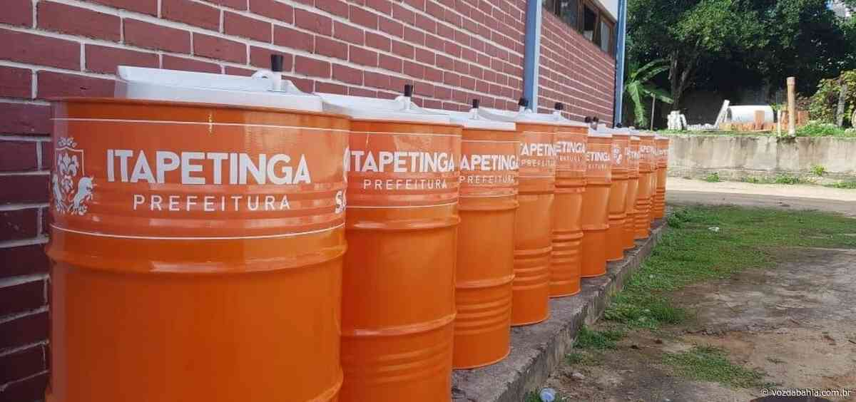 Prefeitura de Itapetinga instala lavatórios nas ruas e planeja retorno do comércio - Voz da Bahia