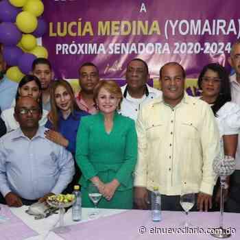Lucía Medina recibe apoyo de empresarios en Las Matas de Farfán - El Nuevo Diario (República Dominicana)
