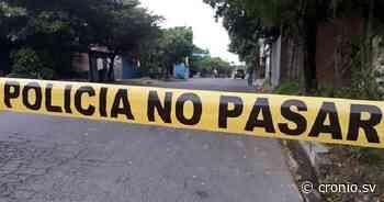 Un hombre asesinado a balazos y otro degollado se suman a la ola de homicidios registrado en las últimas horas - Diario Digital Cronio de El Salvador
