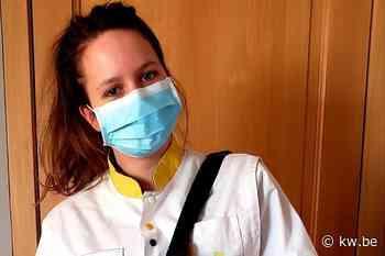 """Nathalie Roose uit Dentergem is thuisverpleegster in coronatijden: """"Moeten er samen door"""" - Krant van Westvlaanderen"""