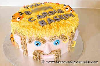 Vernon baker earns stripes with Tiger King cake - Lake Country Calendar