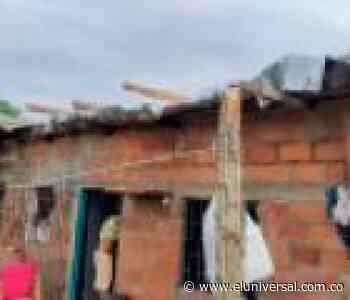 En medio de la cuarentena, vendaval deja casas sin techo en Majagual - El Universal - Colombia