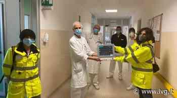 APM Terminals Vado Ligure dona al San Paolo monitor per l'assistenza ai pazienti Covid - IVG.it