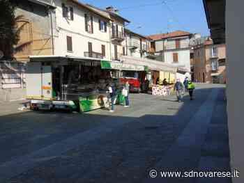 A Gozzano è tornato lo storico mercato settimanale - L'azione - Novara