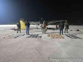 Aseguran en Palenque avioneta con 140 kilos de cocaína - La Jornada