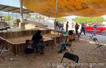 Clausuran palenque clandestino en El Marqués - Quadratín Querétaro