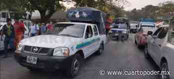 Indígenas retiran cerco sanitario en Palenque - Cuarto Poder