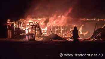 Colac Golf Club's buggy shed gutted by suspicious fire - Warrnambool Standard