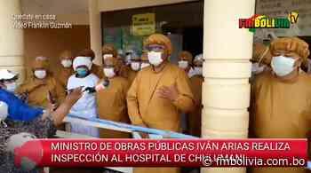Hospital de Chulumani registra mejoras en identificación de casos de Covid-19 y en protocolo de bioseguridad - FmBolivia