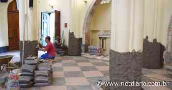 Obras na igreja de Santa Teresa entram em nova etapa - NetDiário