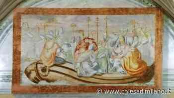 """La """"Barca della Chiesa"""" guidata dalla carità negli affreschi scoperti a Mozzate - Diocesi di MIlano"""