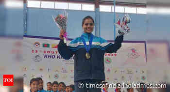Delhi Police provides ration to kho-kho skipper Nasreen - Times of India