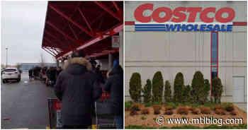 Videos Show Big Line & Employees Wiping Carts At West Island Costco Amid Coronavirus Panic - MTL Blog
