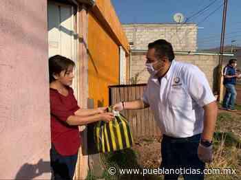 Chignahuapan inicia con la entrega de apoyos alimentarios - Puebla Noticias