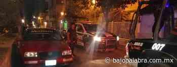 Policías retiran a ciudadanos de las calles de Zumpango, Guerrero - Bajo Palabra Noticias