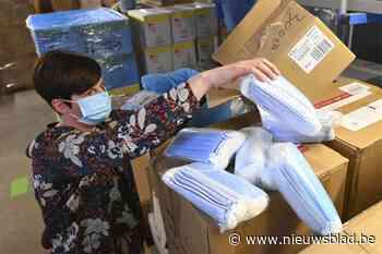 Gratis mondmasker voor alle inwoners van Bocholt en Oudsbergen