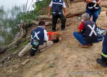 Mujer se ahoga por sumersión en congregación de Cosamaloapan - Imagen del Golfo