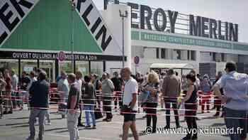 Vendin-le-Vieil : la réouverture de Leroy-Merlin attire près de 200 personnes - La Voix du Nord