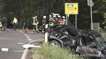 Unfall In Molbergen: Beifahrerin von Unfallfahrer lebensgefährlich verletzt - Nordwest-Zeitung