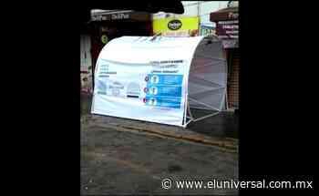 Exlegisladora instala túnel sanitizador en Amecameca | El Universal - El Universal