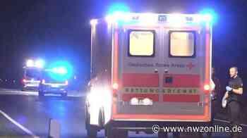 Unfall Auf Bundesstraße In Emstek: Fußgänger von Auto erfasst – in Lebensgefahr - Nordwest-Zeitung