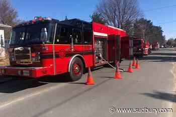 Crews respond to bush fire 300 ft from Val Caron residence - Sudbury.com