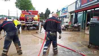 De gros dégâts entre Mourenx et Orthez après les fortes pluies de ce samedi après-midi - France Bleu