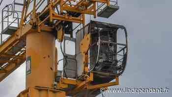 Saint-Cyprien : une cabine de grue prend feu à 20 mètres de haut - L'Indépendant