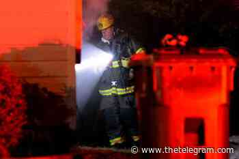 Mount Pearl apartment fire displaces one person early Monday morning - The Telegram