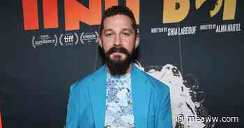 Shia LaBeouf shows off inked body as he goes shirtless for a run, but what do the tattoos mean? - MEAWW