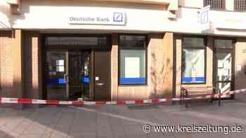 Geldautomaten in Verden und Bunde gesprengt - dritte Tat in Goslar - kreiszeitung.de