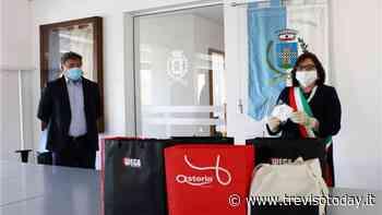 Solidarietà a Susegana: ricevuta dal Comune un'importante donazione di mascherine - TrevisoToday