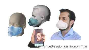 Marignane : l'Intelligence Artificielle sculpte des masques personnalisés - France 3 Régions