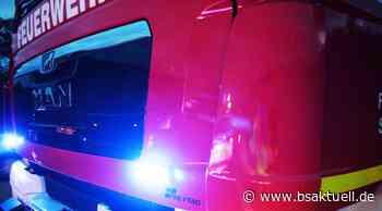 Meitingen/Waltershofen: Vermutlich ein Holzofen löst Brand in Scheune aus - BSAktuell