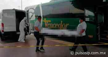 Pasajero llega muerto a la central de autobuses de Ciudad Valles - Pulso de San Luis