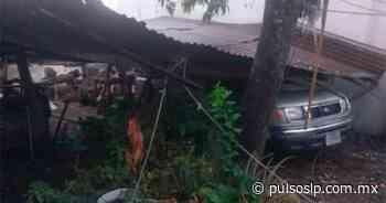 Tormenta causa daños en varias zonas de Ciudad Valles - Pulso de San Luis