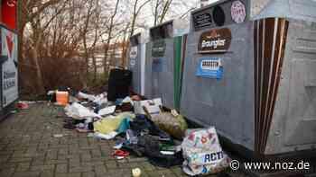 Ärger in Westoverledingen: Altglas-Sammelstelle wird zur Müllkippe CC-Editor öffnen - noz.de - Neue Osnabrücker Zeitung